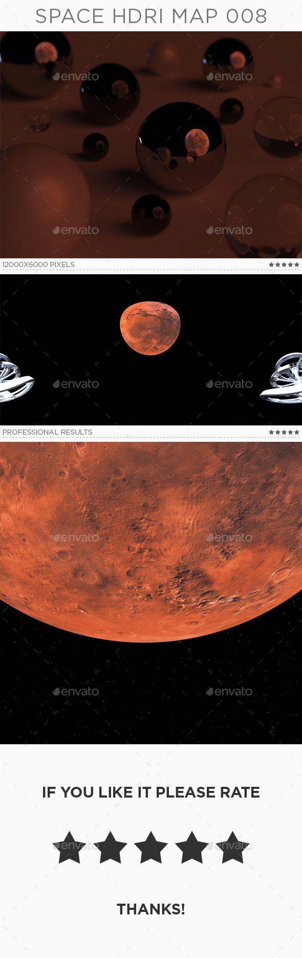 Space HDRi Map 008 - 3DOcean Item for Sale