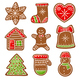 Gingerbread Vector Collection