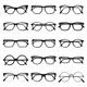 Isolated Glasses Frame Set