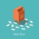 Isometric Mail Box Illustration