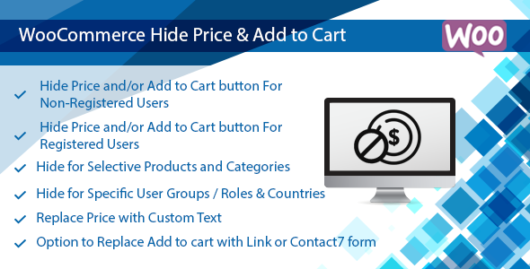 WooCommerce Hide Price & Add to Cart Button Plugin - Hide by User Roles - CodeCanyon Item for Sale