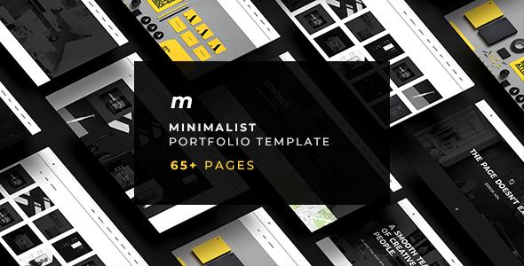 MOT - Minimalist Portfolio Template - Portfolio Creative