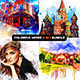 Colorful Mixed  4-in-1 Photoshop Action Bundle - GraphicRiver Item for Sale
