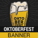 Sketchy Oktoberfest Web Banner - GraphicRiver Item for Sale