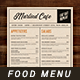 Food Menu Template - GraphicRiver Item for Sale