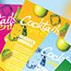 Cocktail Drinks Menu - GraphicRiver Item for Sale