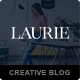 Free Download Laurie - A WordPress Blog & Shop Theme Nulled
