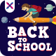 Back To School Social Media Banners - GraphicRiver Item for Sale
