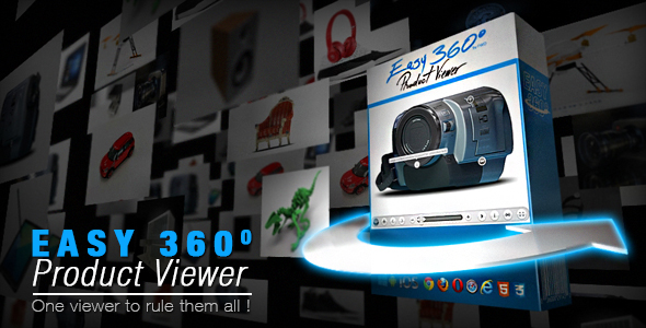 Easy 360° Product Viewer - CodeCanyon Item for Sale