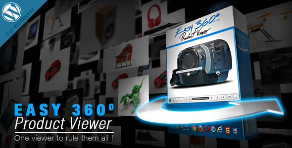 Easy 360° Product Viewer Wordpress Plugin - CodeCanyon Item for Sale