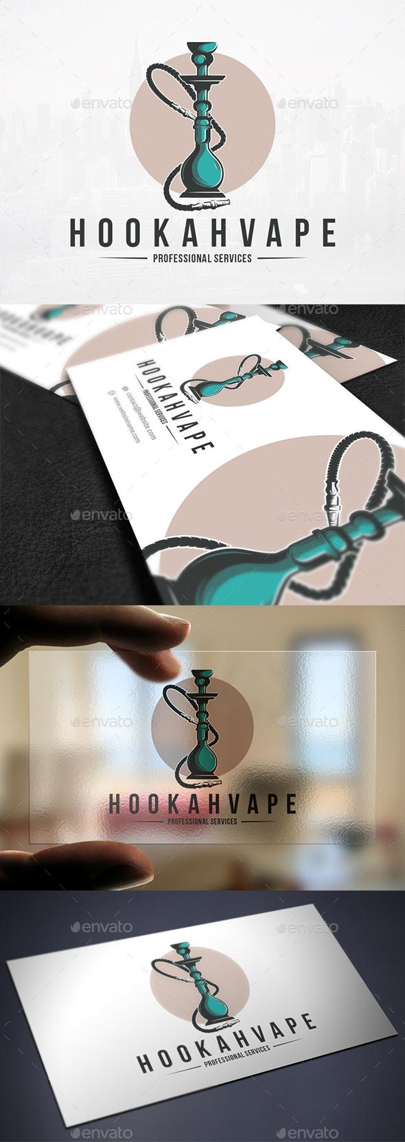 Shisha Hookah Logo Template - Objects Logo Templates