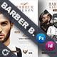 Barber Flyer Bundle Templates
