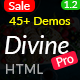 Divine Pro - 45+ Responsive Multi-purpose HTML5 Template - ThemeForest Item for Sale