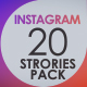 Instagram 20 Stories Pack - VideoHive Item for Sale