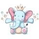 Elephant Character.