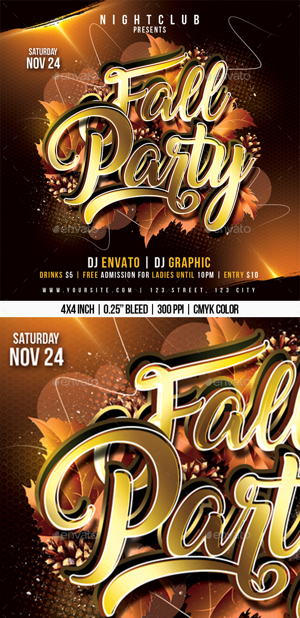Fall Party - Clubs & Parties Events