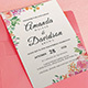 Floral Wedding Set - GraphicRiver Item for Sale