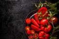 Fresh ripe garden tomatoes - PhotoDune Item for Sale