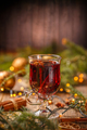 Glass with hot red wine - PhotoDune Item for Sale