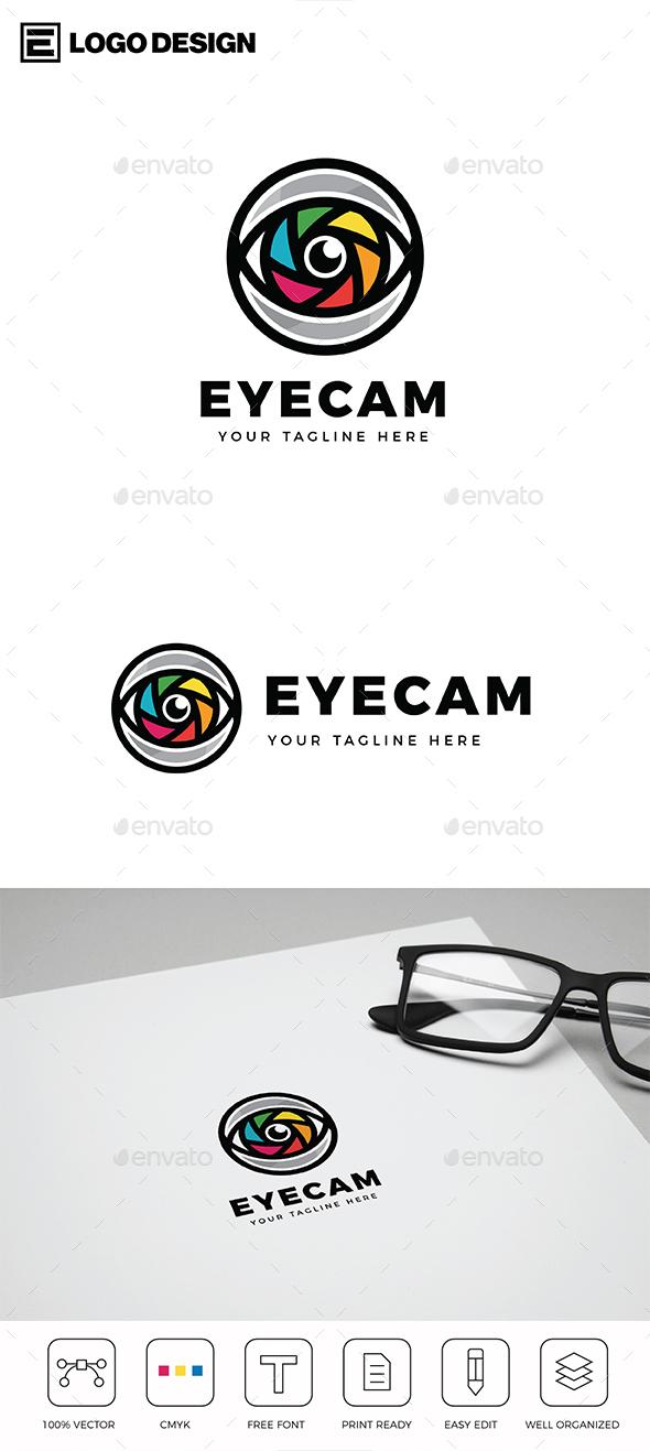 Eye Camera Logo - Abstract Logo Templates
