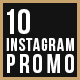 10 Instagram Promo Post - GraphicRiver Item for Sale