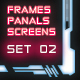 30 Hi-Tech Panels Frames And Screens Shapes - GraphicRiver Item for Sale