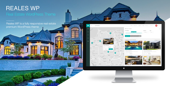 Reales WP - Real Estate WordPress Theme - Real Estate WordPress