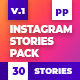 Instagram Stories Pack Mogrt - VideoHive Item for Sale
