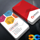 Hexa Business Card - GraphicRiver Item for Sale