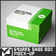 Square Shoe Box / Package Mock-Up - GraphicRiver Item for Sale