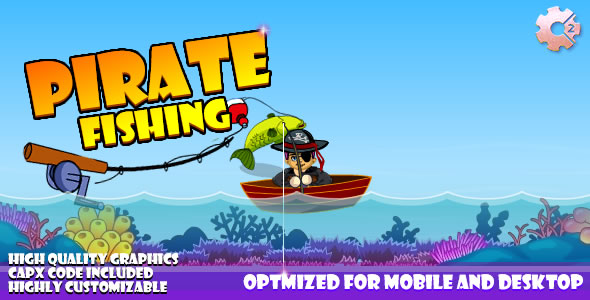 Pirate Fishing (C2 & C3) Game! - CodeCanyon Item for Sale