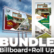 Bundle (Billboard+Roll Up Banner) - GraphicRiver Item for Sale