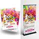 Color Run Event Flyer with Roll-Up Bundle - GraphicRiver Item for Sale