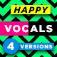 Happy Vocal - AudioJungle Item for Sale