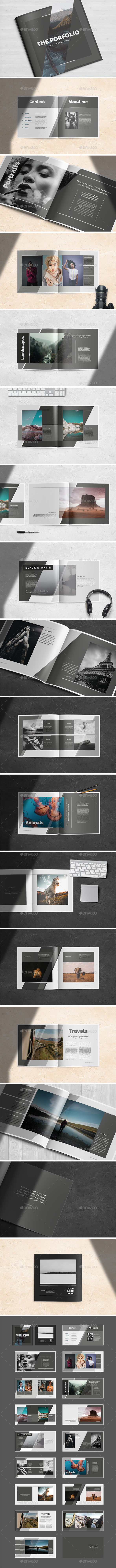 Multipurpose Porfolio Template - Brochures Print Templates