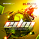 EDM Electro Dj Party Flyer - GraphicRiver Item for Sale