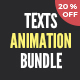 Texts Animation Bundle - VideoHive Item for Sale