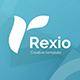 Rexio Creative Powerpoint Template - GraphicRiver Item for Sale