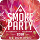 Smoke Party Poster / Flyer