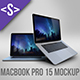 MacBook Pro 15 Mockup