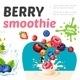 Cartoon Sweet Healthy Smoothies Template