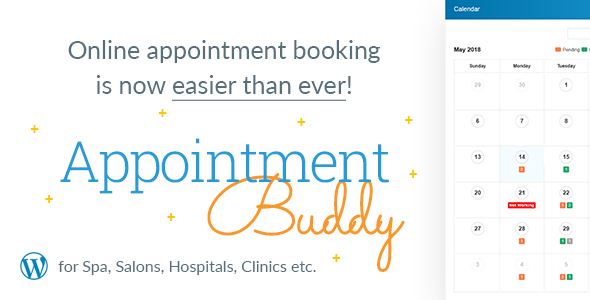 Appointment Buddy - Online Appointment Booking WP Plugin Free Download | Nulled