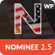 Nominee - Political WordPress Theme for Candidate/Political Leader - ThemeForest Item for Sale