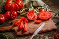 Slice of tomatoes - PhotoDune Item for Sale