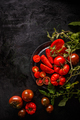 Fresh red sliced tomatoes - PhotoDune Item for Sale