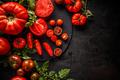 Chopped tomato - PhotoDune Item for Sale