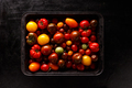 Assortment of colored fresh tomatoes - PhotoDune Item for Sale