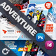 Camping Adventure Flyer Bundle Templates - GraphicRiver Item for Sale