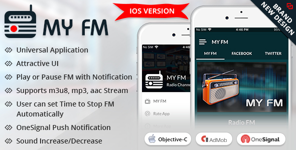 My FM iOS - CodeCanyon Item for Sale