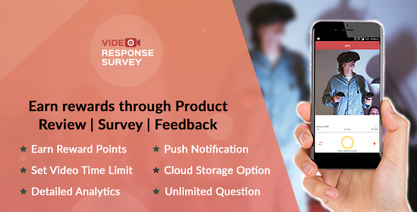 Product Review | Survey | Feedback through Video (iOS) - CodeCanyon Item for Sale
